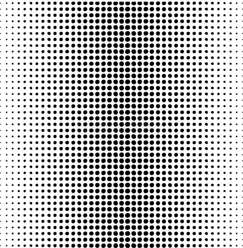 Kropka wektorowy wzór ilustracji