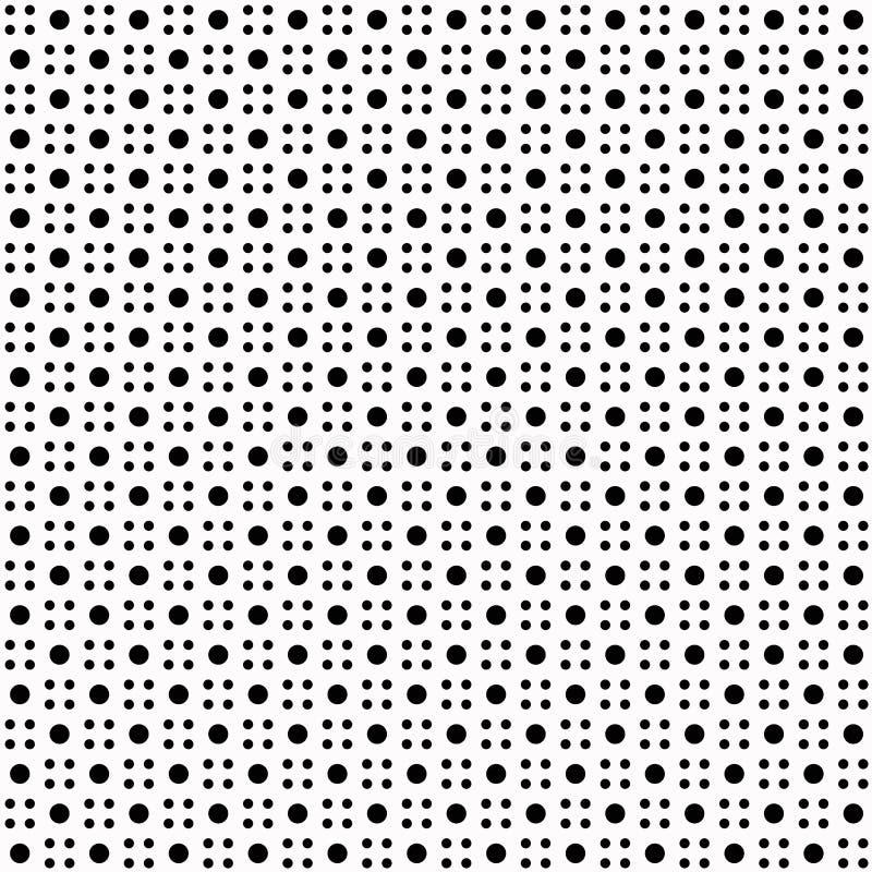 kropki deseniują polkę bezszwową ilustracji