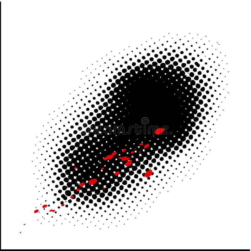 kropki tło ilustracja wektor