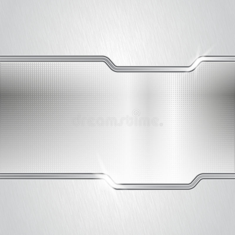 Kropkowany metalu abstrakta tło royalty ilustracja