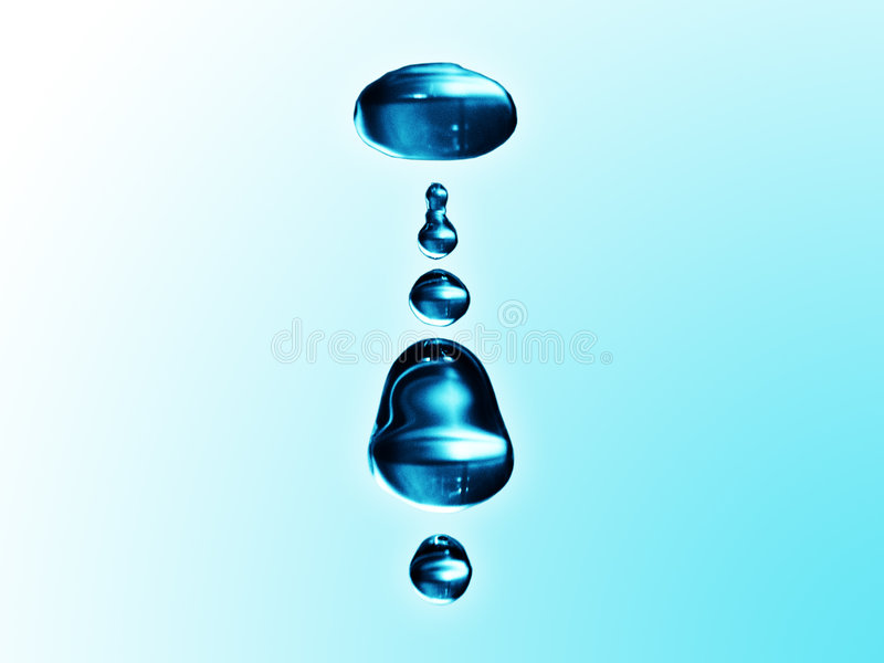 kroplę wody zdjęcia stock