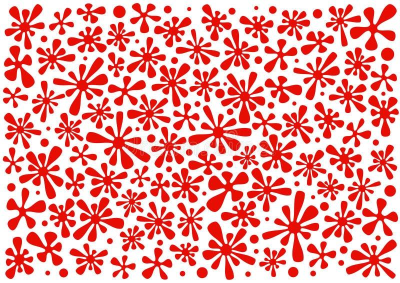 kropla kwiat ilustracji