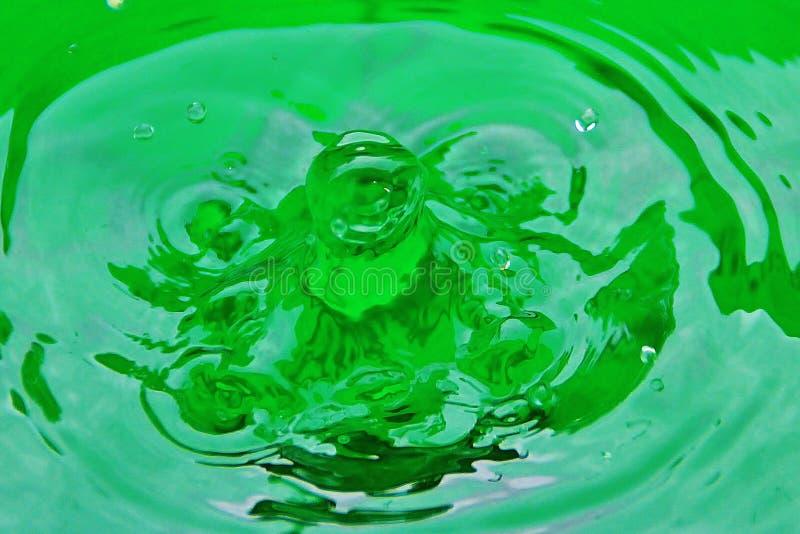 KROPLA woda 1 obraz royalty free