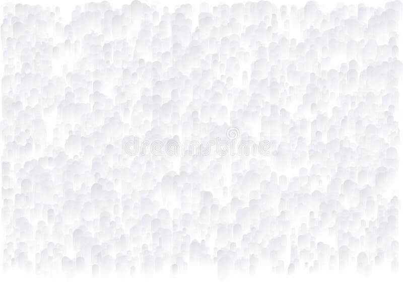 krople abstrakcyjnych tło Grayscale granulacyjna tekstura halfback ilustracja wektor