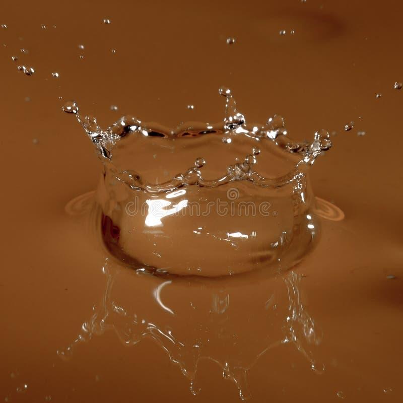 krople szklanek wody zdjęcia royalty free