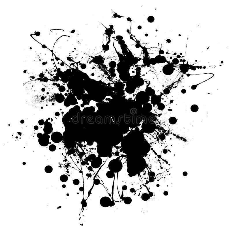 kropli duży splat ilustracji