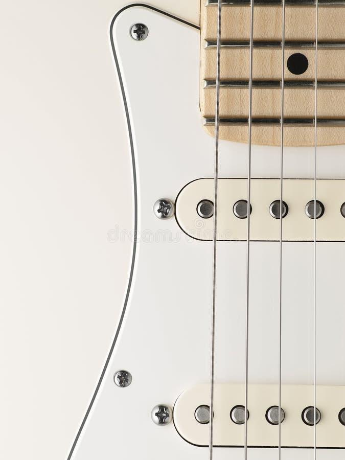 Kropp för elektrisk gitarr arkivfoto