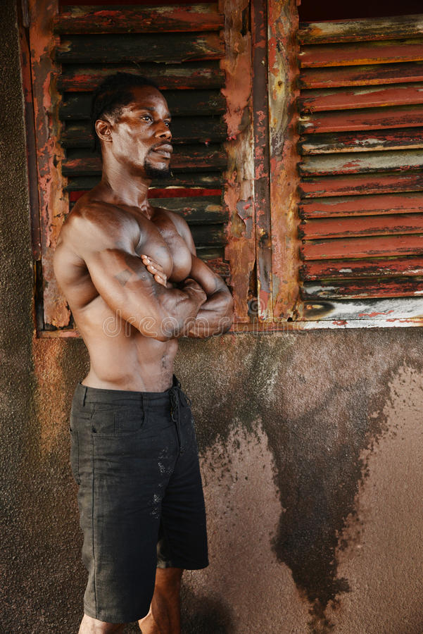 kroppsbyggare arkivfoto