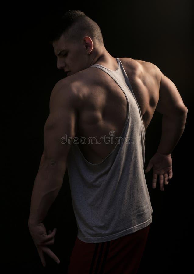 kroppsbyggare royaltyfri foto