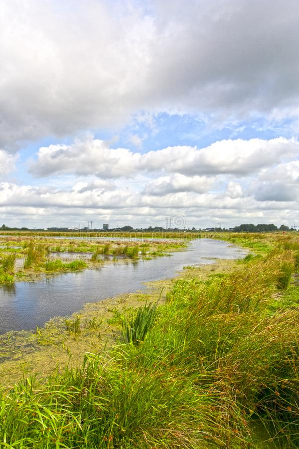 Free Kropswolderbuitenpolder, Groningen (Nederland / Netherlands) Stock Photos - 129048183