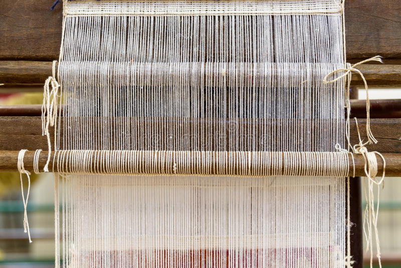 Krosienko w dywanik fabryce obraz royalty free