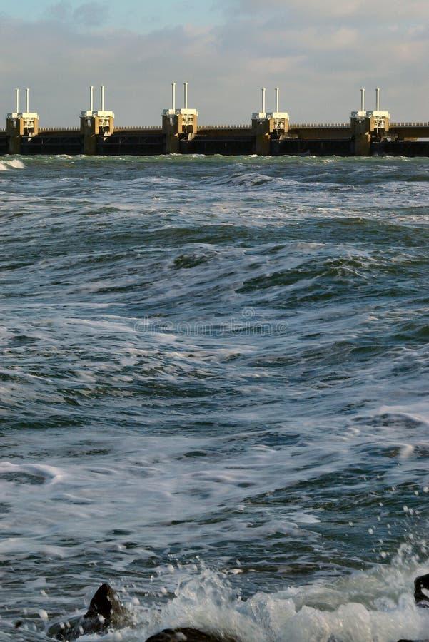Download Krossande Holländarewaves För Kust Arkivfoto - Bild av jord, dörrar: 504692