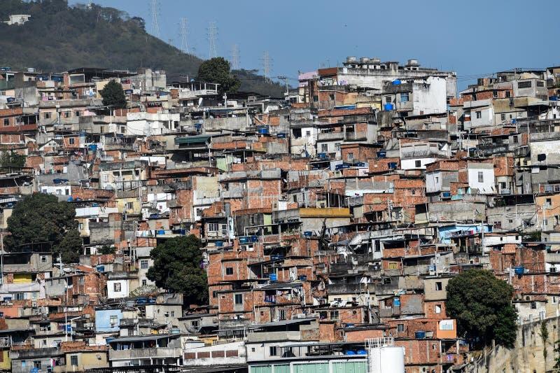 Krottenwijk Rio de Janeiro stock afbeeldingen
