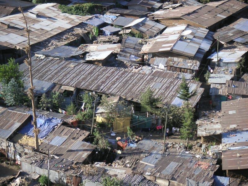 Krottenwijken stock foto's