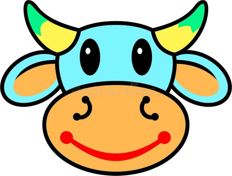 krowa szczęśliwa ilustracja wektor