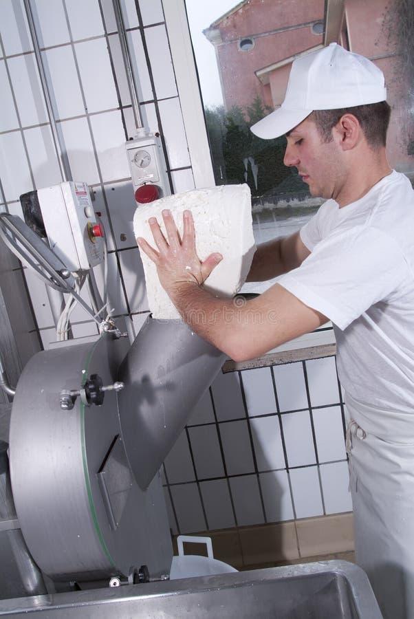 krowiarz mozzarella przygotowywa czego obrazy stock