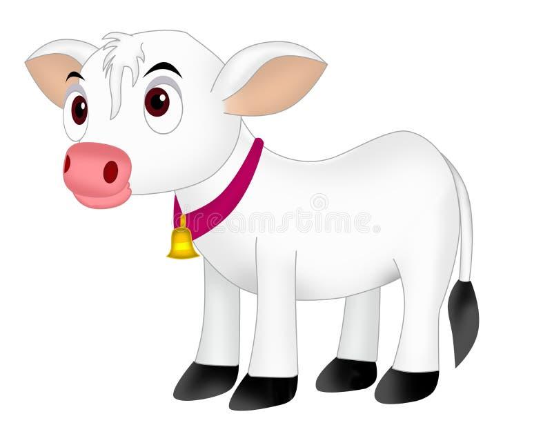 Krowy łydka ilustracja wektor