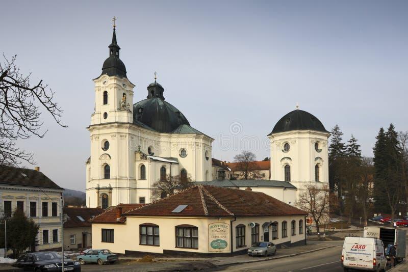 Krsmall - igreja imagem de stock
