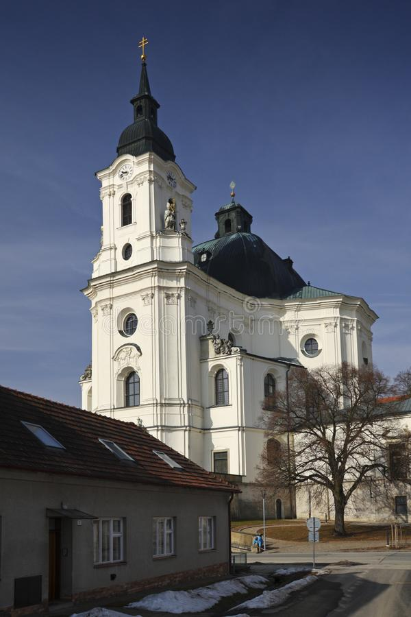 Krsmall - igreja fotografia de stock royalty free