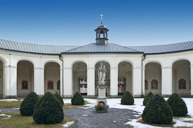 Krsmall - igreja imagens de stock royalty free