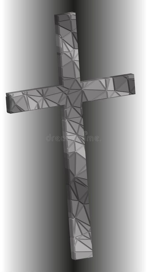krucyfiks ilustracja wektor
