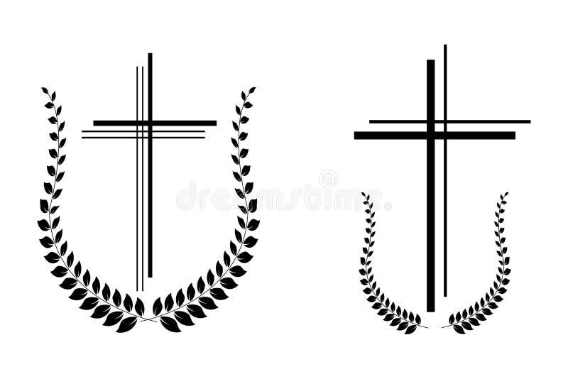 krucyfiks ilustracji