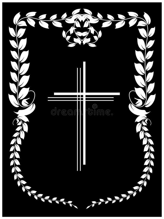 krucyfiks royalty ilustracja