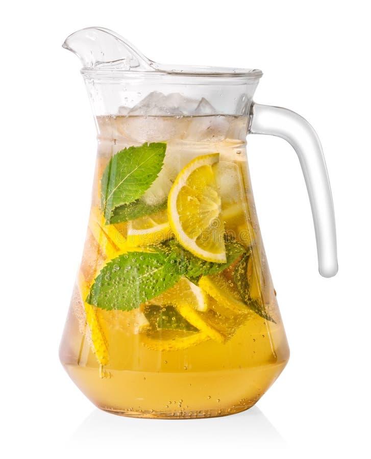 Krug selbst gemachte Limonade stockbilder