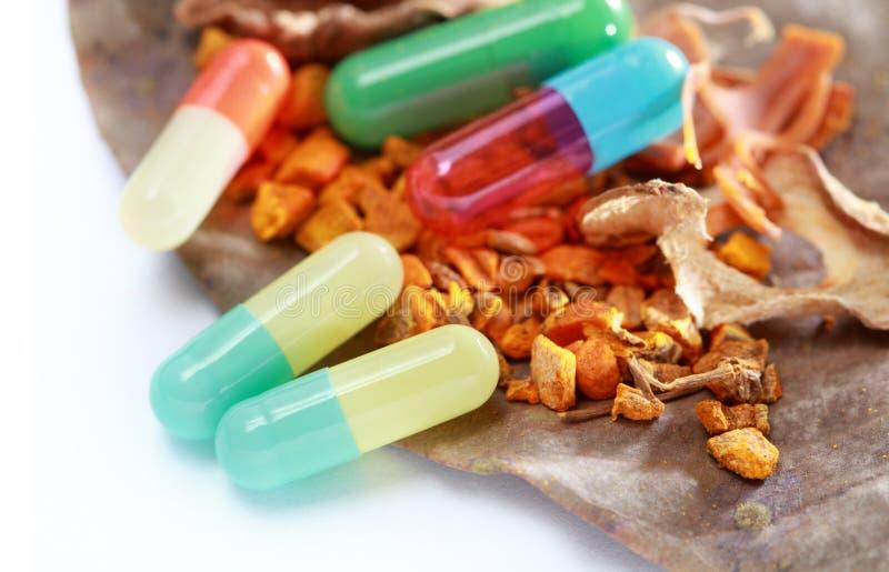 Kruiden geneeskunde royalty-vrije stock afbeeldingen