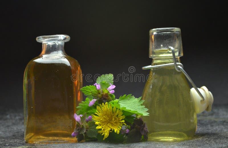 Kruiden natuurlijke tint royalty-vrije stock afbeeldingen