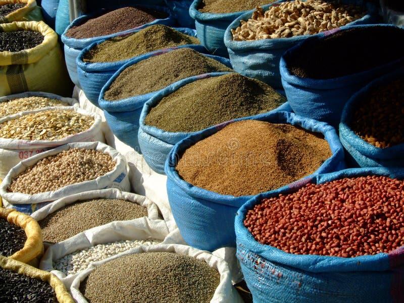 Kruiden van Marokko royalty-vrije stock afbeeldingen