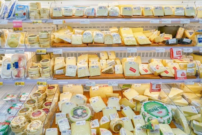 Kruidenierswinkelopslag stock foto