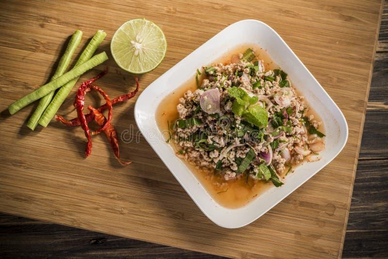 Kruidig Thais voedsel stock fotografie