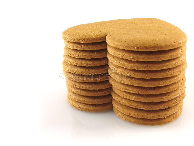Kruidige koekjes royalty-vrije stock afbeelding