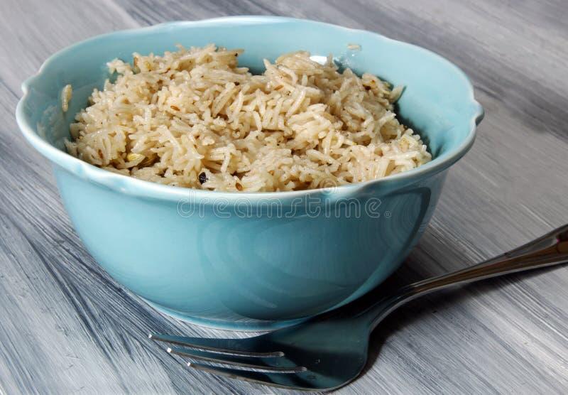 Kruidige rijst stock fotografie