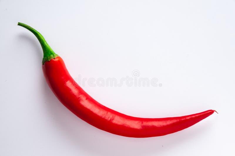 Kruidige rode Spaanse pepers stock fotografie