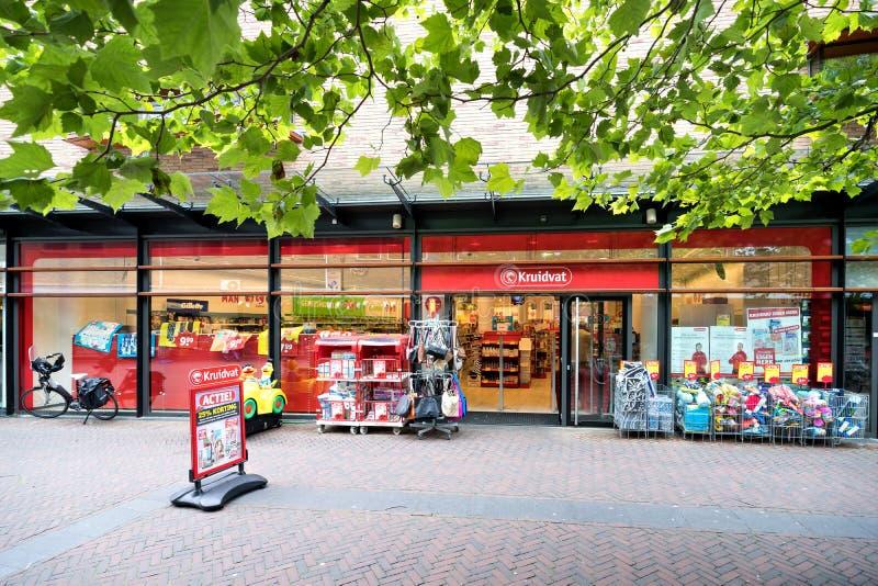 Kruidvattak in Oegstgeest, Nederland stock foto's