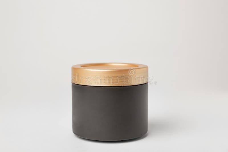 Kruik van cosmetische product royalty-vrije stock fotografie