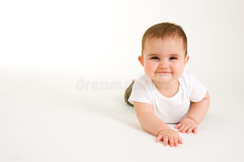 Kruipende Baby   royalty-vrije stock foto