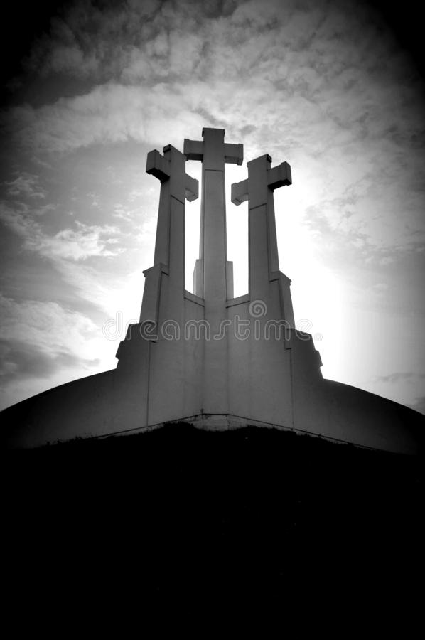 Kruis in Rusland royalty-vrije stock foto's