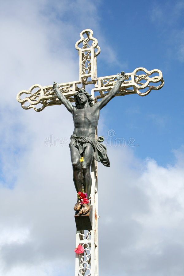 Kruisbeeld royalty-vrije stock foto