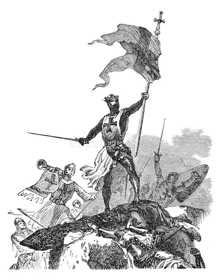 Kruisvaarders vector illustratie