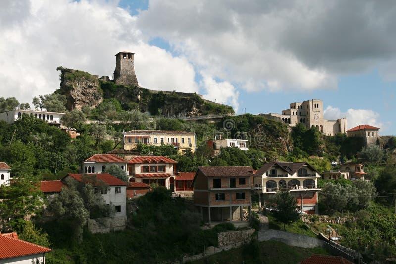 Kruje, Albanië royalty-vrije stock afbeelding