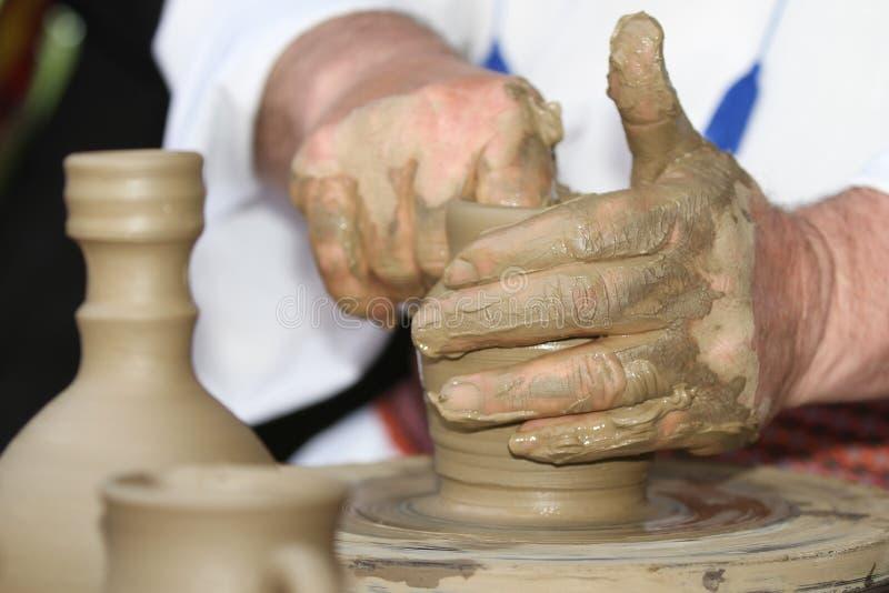 krukmakeri royaltyfri foto
