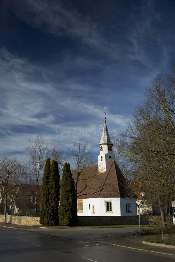 Krummwalden Church, Krummwalden, Baden Wurttenberg, Germany - 1st January 2014. Krummwalden Church in Krummwalden, Baden Wurttenberg, Germany - 1st January 2014 stock photos