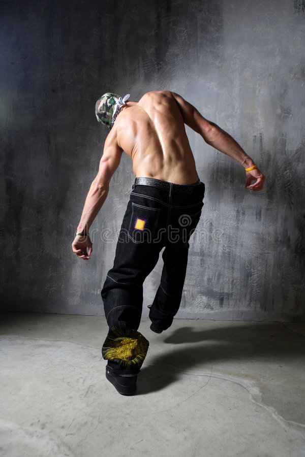 Free Krump Style Dancer Royalty Free Stock Images - 2376529