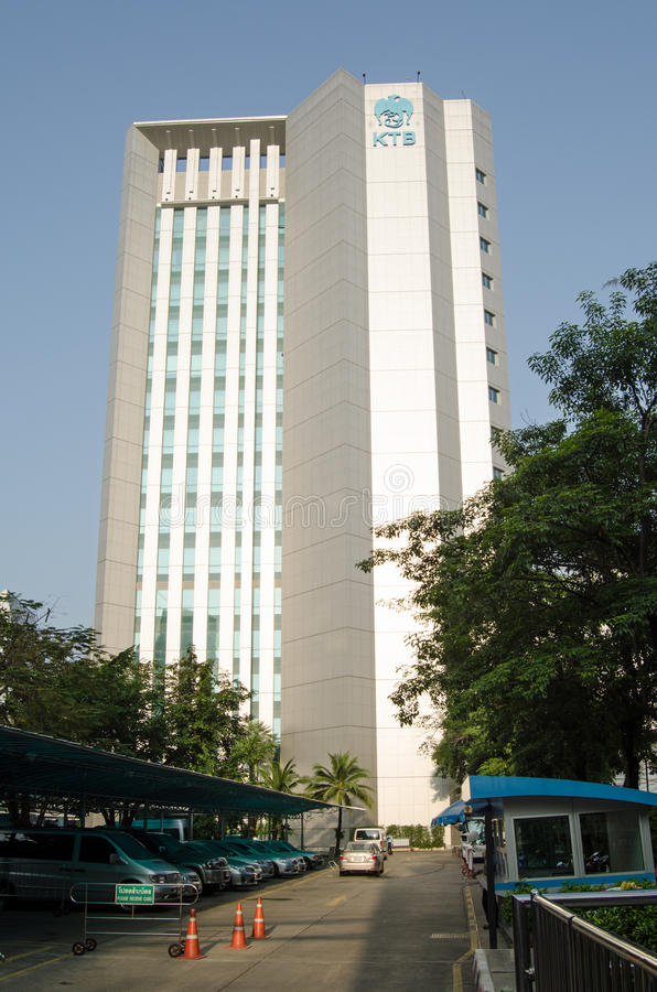 Download Krung Thai Bank Head Office, Bangkok Editorial Image - Image of vertical, image: 36577545