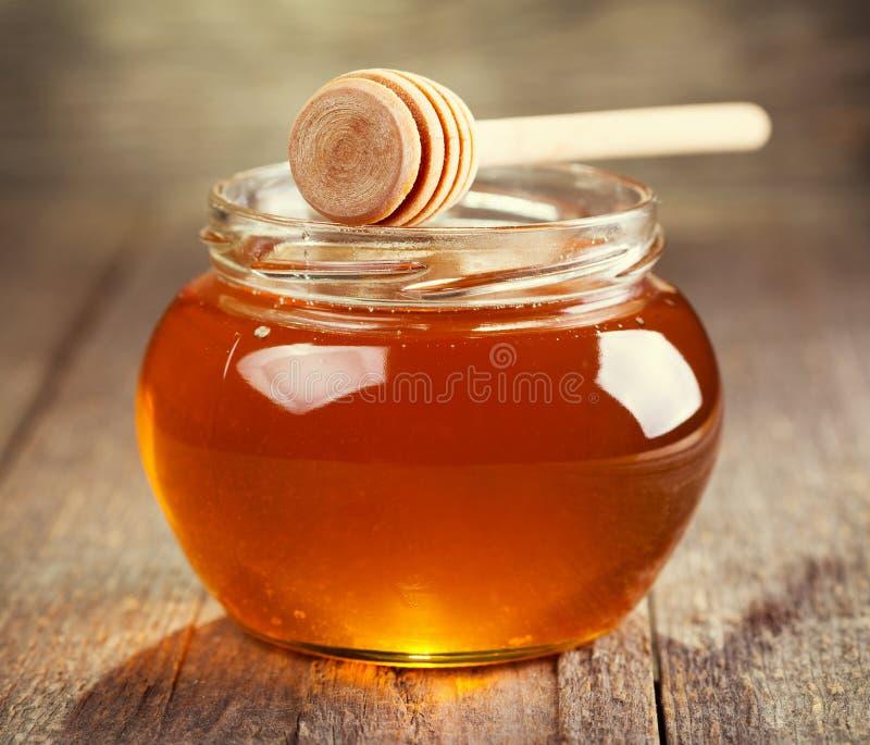 Krus av honung royaltyfri fotografi
