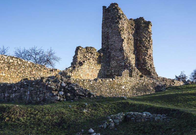 Krusevac fästning i Serbien royaltyfri fotografi