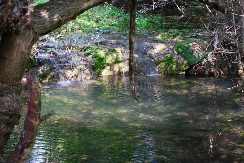 Krushunas vattenfall royaltyfri foto